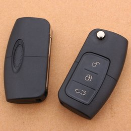 Ford flip the key case Fox new Carnival wings Beamon Diou winning car folding remote key shell
