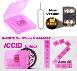 Original v9.6.4 Rsim R SIM RSIM12 12 Unlocking Card for All iPhone IOS 11.3.1 AUTO-Unlocking 4G LTE US moxico japan JP