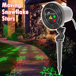 Elf Light Christmas Outdoor Holiday garden Laser 8IN1 Red Green Christmas Laser Projector Waterproof Outdoor Laser Light Projector