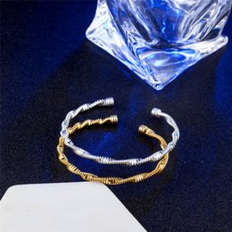 Hot Sale 925 Sterling Silver Bangle For Women Charm Silver Fashion Fine Jewelry Gift High Quality