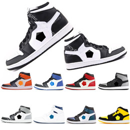 Cheap 1 Top 3 Mens Basketball Shoes Black White Gold Bred Toe Chicago Banned Fragment UNC HOMAGE TO HOME New Love City Eur40-47