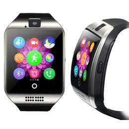 Q18 For Apple IPhone Samsung Xiaomi Bluetooth Smart Watch Watches Sport with Touch Screen Camera Sleep Monitor Smartwatch Fitbit
