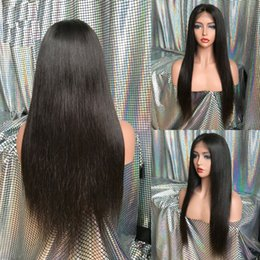 Lace Front Human Hair Wigs For Black Women Straight Brazilian Remy Hair Glueless Full Lace Wigs Pre Plucked Baby Hair Lacefront Frontal Wig