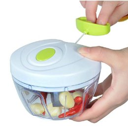 Multifunction vegetable cutter hand speed food processor fruit vegetable chopper meat grinder nuts herbs onions cutter salad speedy chopper