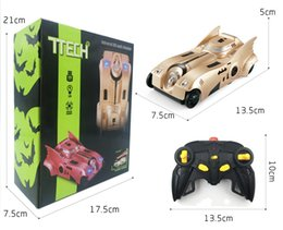 7TECH Electric Toy 360 Rotation Remote Control Wall Climbing Car with Light Carro Control Remote Toys Gifts for Kids