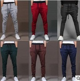 The men's leisure line relaxes and relaxes the relaxed and comfortable casual sport pants fashion pants.