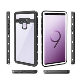 Dot+ Series IP68 Waterproof Case Cover for Samsung Galaxy NOTE 9 NOTE 8 S9 S9 PLUS In Retail package 40pcs lot