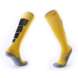 Wholesale towel bottom thickening long tube knee football sports socks