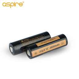 100% Original Aspire 21700 battery high capacity 3800mAh rechargeable for Vaporizer Mod 25A high discharge INR 3.7V Li-ion High Rate ecig