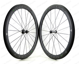 FANTECY free shipping 700C 50mm depth 25mm width clincher tubular Urltra-Light carbon wheels Race50 Road bicycle carbon wheelset