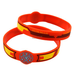 Hot Sell 1PC Watch Shaped Bracelet Iron Man Silicone Wristband Perfect To Use In Any Benefits Gift For Gamers