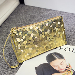 Wholesale New Fashion Dazzling Glitter Sparkling Bling Sequins Evening Party Purse Bag Handbag Women Clutch Walle