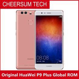 "refurbished Original HuaWei P9 Plus 4G LTE Mobile Phone Kirin 955 Android 6.0 5.5"" FHD 4GB RAM 128GB ROM 12.0MP Fingerprint Force Touch"