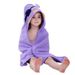MICHLEY Children Towels Animal Baby Bathrobe 5 Styles New Arrival Summer Girls Cotton Clothing Cartoon Comfortable Robes