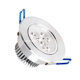 CREE LED Downlights 3W Dimmable LED Recessed Ceiling lamp AC85-265V White Warm white LED Down Lamp Aluminum