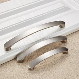 160mm nickel brushed Kitchen Cupboard Cabinet Wardrobe Door Drawer Pull Handle aluminum Alloy new design used furniture dresser metal handle