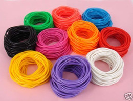 Wholesale Lot 500P X Gummies Rubber Shag Bands Bracelets Bangle Wristband