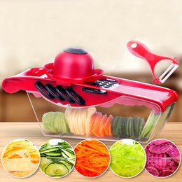 Vegetable slicer muliti-function fruit vegetable chopper kitchen grater cutting tools stainless steel