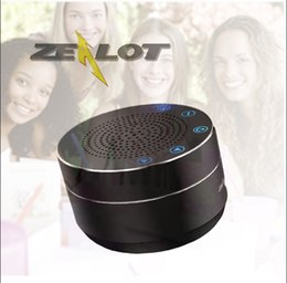 ZEALOT Mini Wireless Bluetooth Speaker S19 portable Touch Control Altavoces Altoparlante Built-inHD mic TF Card Bass Stereo 1000mAh Battery