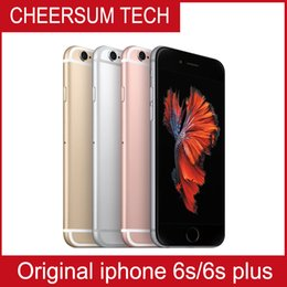 100% Original screen Apple 4.7 inch iPhone 6S with TOUCH IOS 9 Dual Core 2GB RAM 16GB 64GB 128GB ROM 12MP Camera Unlocked Cell Phone