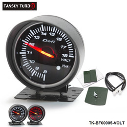 Tansky Universal Cars   Vehicle Meter   Gauge Defi Original color box 60mm VOLTS GAUGE Black Bracket original color box TK-BF60005-VOLT