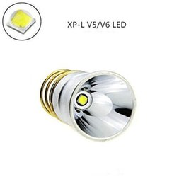 CREE XPL V6 LED Lamp 3000K-3200K Yellow Light Cup 1200Lumens 3.6V-8.4V 1-Mode Light Bulb SureFire 6P G2 Warm white in white