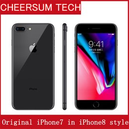 "Original Apple iphone 7 in iphone 8 style Case Unlocked iPhone7 Phone 1.2MP Two Camera 4G LTE 5.5"" Quad Core A10 3G RAM 32GB ROM iphone8"