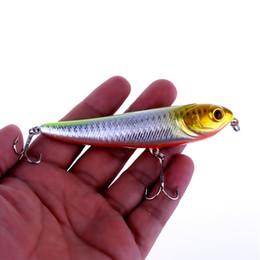 HENGJIA 8pcs lot fishing lures Minnow fishing tackle Pencil Fishing lure 10CM 13.7G 6#hooks CRANKBAIT MINNOW BAIT HOOKS free shipping