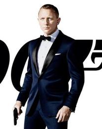 Daniel CraigPersonal tailo men's suit suit, business casual banquet, groom, best man's host, master of ceremonies (jacket + trousers + tie).