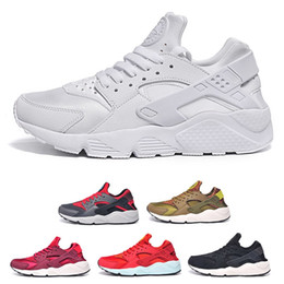 Newest Air Huarache I Running Shoes For Men Women,Green White Black Rose Gold Sneakers Triple Huaraches 1 Trainers huraches Sports Shoes