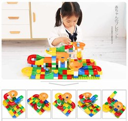 DIY Variety Slide Blocks puzzle blocks game Large particles assembled toys