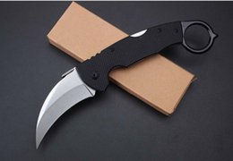 Cold Steel 996 Karambits Knives Fixed Blade Machete Claw Knife Hunting Outdoor Survival Camping Knives EDC Tools