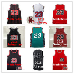 Mens jerseys Top quality #23 Jerseys Youth Classical All star Basketball Kids Jersey Men Sports wear embroidered Logos Cheap sports shirts