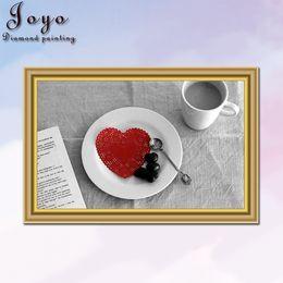 Joyo,DIY resin diamondpainting picture cross stitch,casual coffee,home decor,restaurant decoration,perfect design,pretty gift