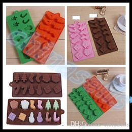 hot Snowman Christmas tree silicone cake mold Food-grade baking tools muffin fondant cake chocolate mold cookie mould