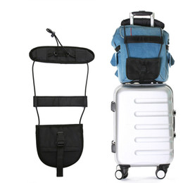 Travel Luggage Suitcase Adjustable Belt Black Bag Strap Carry On Bungee Easily Luggage Bag Strap Travel Accessories