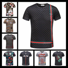 2018 New Summer New Product New Style Man T Shirt Fashion Casual Luxury Hip Hop Skull Streetwear Welcome To Order Inquiry Products