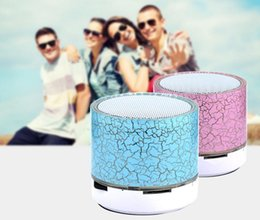 hot new LED MINI A9 TF USB Wireless Bluetooth Speaker Portable Music Sound Box Subwoofer Loudspeakers For phone PC with Microphone