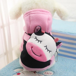 New Cartoon Dog Clothes For Small Dogs Soft Pet Dog Sweater Clothing For Dog Chihuahua Clothes Classic XS-XXL