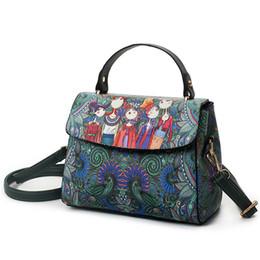 Fashion Luxury Brand PU Leather bag Bolsas Femininas Women Bags Ladies Character Handbag Shoulder Bags Female Tote