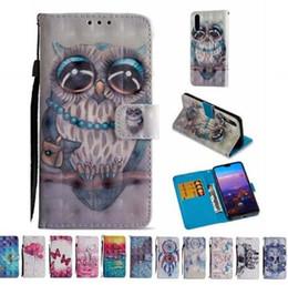 3D Dreamcatcher Butterfly Skeletons Wallet Flip PU Leather Case for Samsung A6 A8 2018 Plus HuaWei Nokia Sony LG G7 K8 K10 2018 XIAOMI