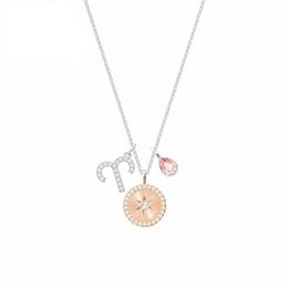 Three-in-one combination Aries fashion ladies constellation pendant nacklace