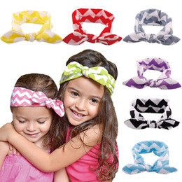 Wholesale-RANDOM DELIVERY ONLY knotted baby amour headband, top baby girl bow knot head bands,boutique knitted headband knit hair bands