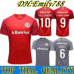 new 18 19 Brazil CLUB Internacional soccer jersey RED HOME 2018 2019 away  gray football shirt N. LOPEZ D.ALESSANDRO POTTKER football shirts 6af83e8f0