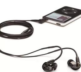 Hot Sale SE215 Wired 3.5MM Hifi Stereo In Ear Earphone Noise Cancelling Bass Headphone Headset Fone De Ouvido