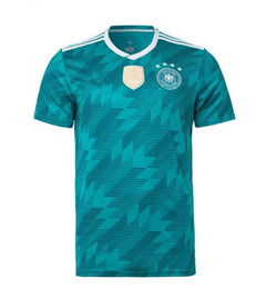 Germany 2018 FIFA World Cup home jersey DFB HECTOR OZIL MULLER HUMMELS KROOS GOTZE WERNER GUERREIRO SANE NEUER SCHURRLE World Cup jerseys