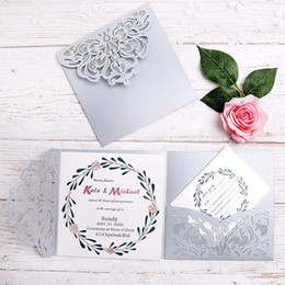 New style Free Printing Gorgeous Silver Square Business.  Wedding   Birthday  Graduation  Engageme Invitations Cards