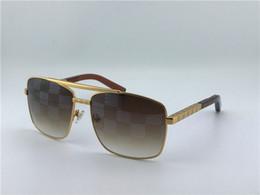new men brand designer sunglasses attitude sunglasses blocked lens UV400 metal square frame top quality orange case classical design