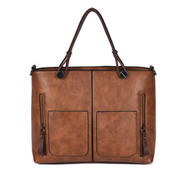 Women Handbags Vintage Bags Retro Leather Tote Bag Girl Large Handbag Women Tassel Casual Hand Bag Shoulder Sac Femme