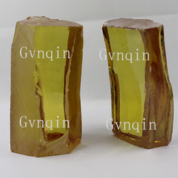 DHL free shipping raw cz 1kg uncut canary yellow cubic zirconia rough